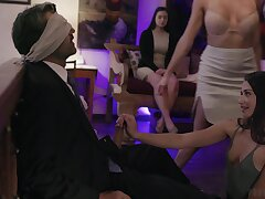 Imprecate good pussy drilling limber up during wild MFFF foursome with Gia Paige