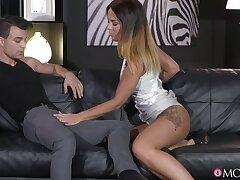 Kissing leads to dick sucking and amazing fucking everywhere Alicia Wild