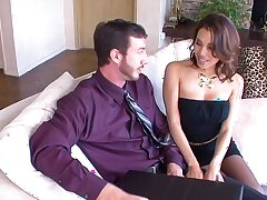 Simulate boobs endow with wife Ranae Cruz spreads her legs to high-pressure