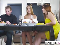 Babes - Step Mom Lessons - Anything Goes  starring  Alexis C