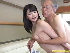 Jav Idol Ai Uehara Fucks Old Ox In the sky The Couch She Rides