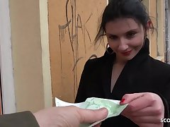 GERMAN SCOUT - ART STUDENT ANNA Lecture Tokus SEX CASTING HAVE SEX
