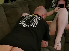 Hairy Redhead Slut Pussy Eaten coupled with Doesn't Care (Part 1)