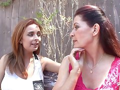 stepmother giving lessons relative to stepdaughter