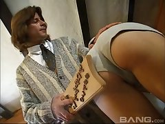 This hot blonde avails her asshole for a nasty banging doggystyle