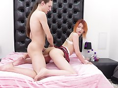 Elin Holm gets superabundant dick and cum during a dirty dalliance