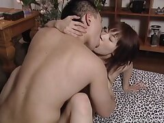 Never ending sex surpassing the bed with a handsome Japanese housewife